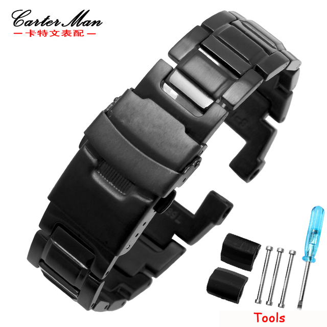 low priced c34cd 86346 US $27.63 15% OFF|Aliexpress.com : Buy New Hight quality stainless steel  watchband for casio GW 3500B/GW 3000B/GW 2000/G 1000 watch strap with tools  ...