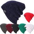 HAT Men Women Knit Baggy Beanie Winter Hat Ski Slouchy Chic Knitted Unisex Cap Skull