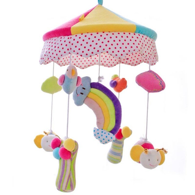SHILOH Musical Mobile 60 Songs Baby Crib Mobile Mobiles Para Bebe Stroller Toy Hanging Rattle