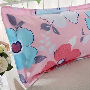 Image 3 - Colorful Silk Satin Pillowcases Cover Super soft fabric Home Cushion Simple Geometric Throw Bedding Pillow Case Pillow Cov