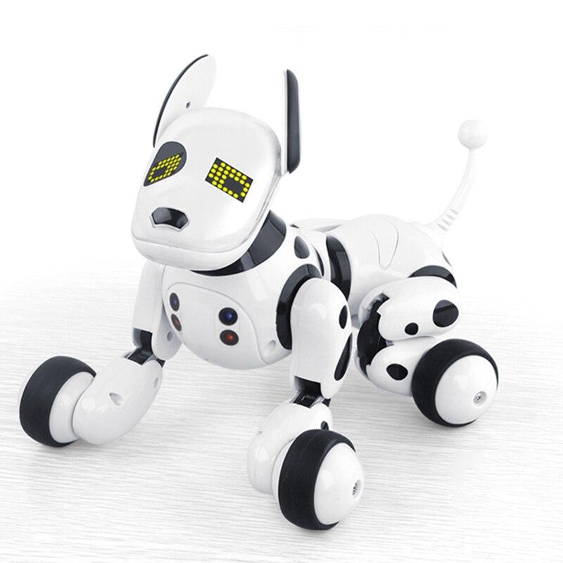 2.4G Sans Fil télécommande Intelligente Chien animal de compagnie électronique Éducatifs Enfants Jouet robot qui danse Chien sans boîte de cadeau d'anniversaire - 6