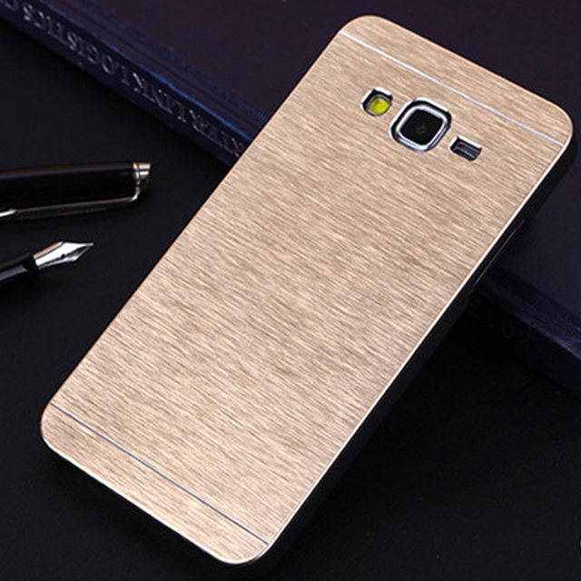 on sale 7bd3a 51833 US $2.43 39% OFF|For Samsung Galaxy Grand Prime Case Aluminum Metal Brushed  Case PC Back Cover for Samsung Grand Prime G530 G531 G531H G5308W-in Phone  ...