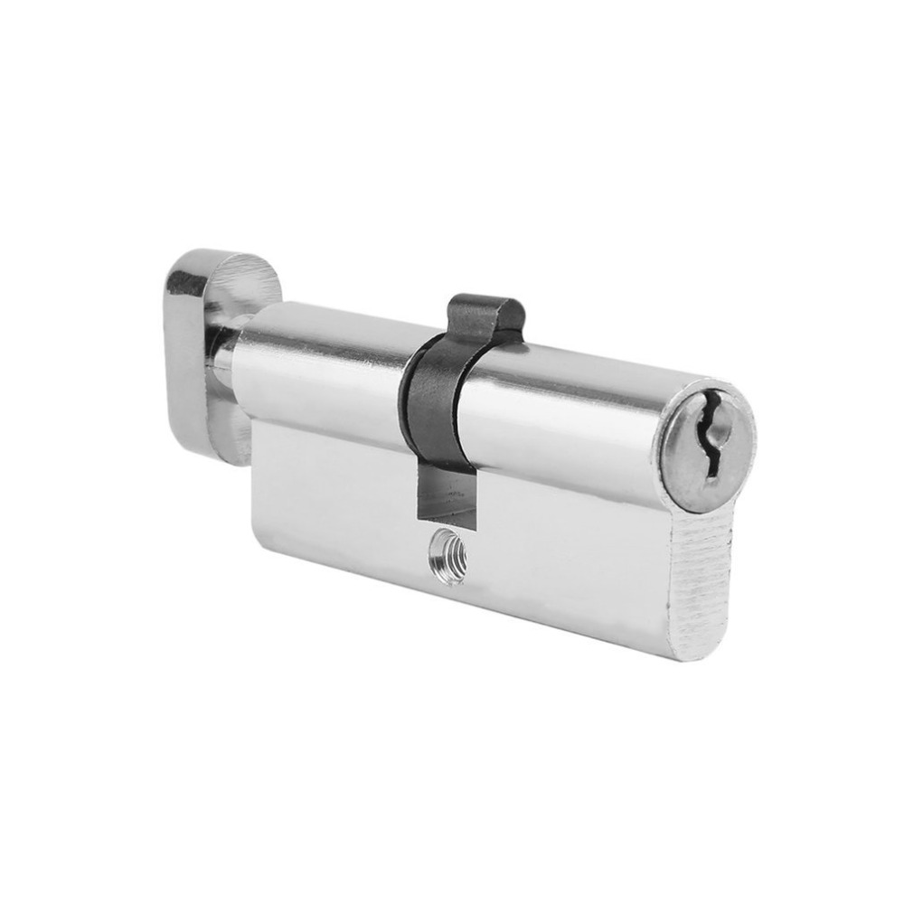 Us 0 97 25 Off 70mm Aluminum Metal Door Lock Cylinder Home Security Anti Snap Anti Drill With 3 Keys Silver Tone Set Tools In Locks From Home