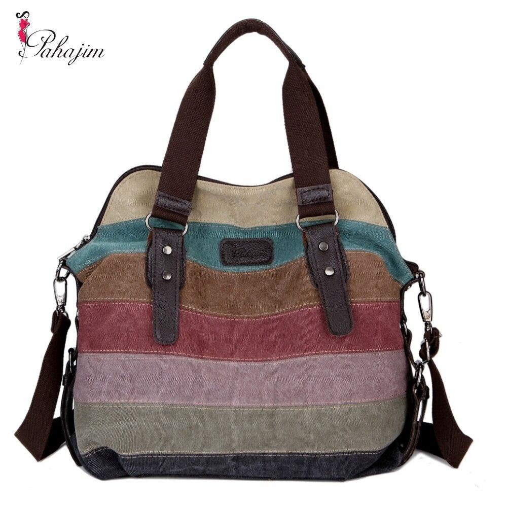 high quality Fashion women Bags Canvas Super patchwork canvas bag Shopping Handbag Casual Shoulder Bag