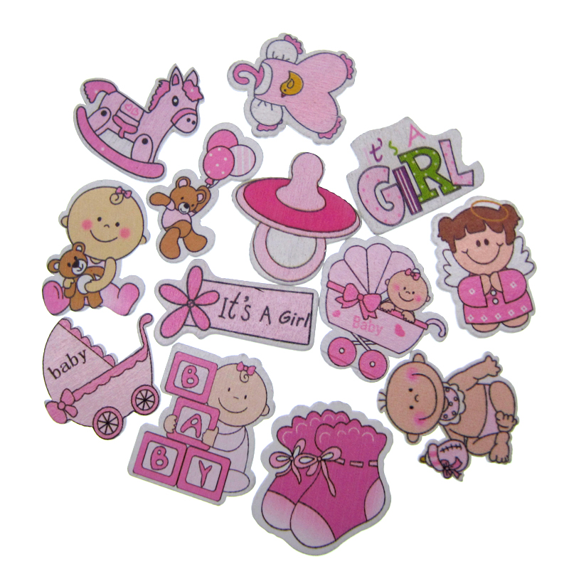 """4/"""" pink owl decor for baby shower etc. parties 20pcs"""