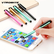 10 шт./лот емкостный Сенсорный экран Стилусы ручка для IPhone X 7 7 s для iPad мини Air 1/2 Samsung Универсальный Планшеты ПК смартфон
