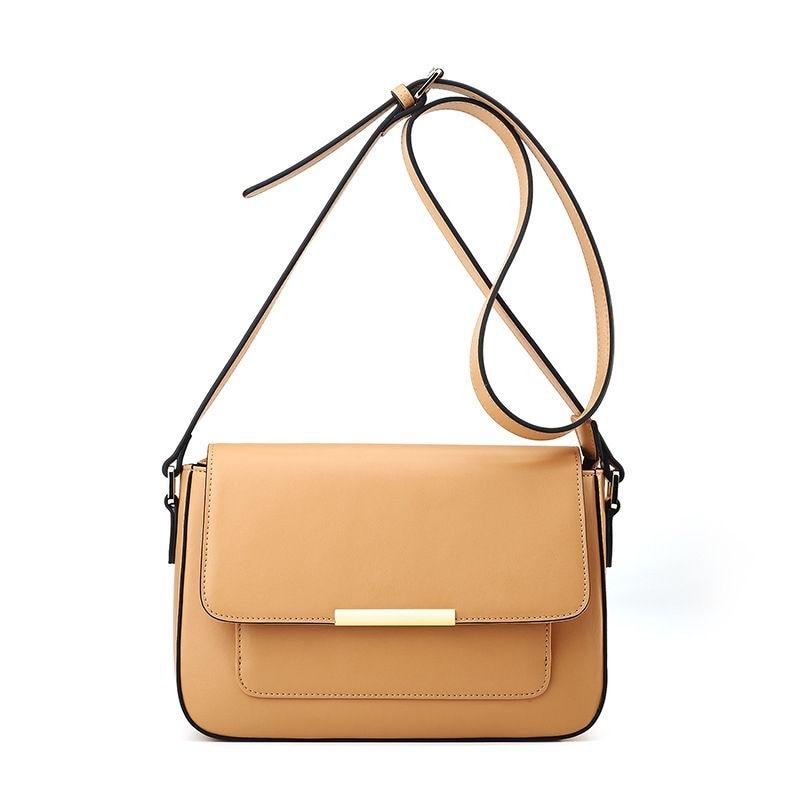 LOEIL Leather bag female Messenger bag Korean version of the new fashion trend temperament handbag korean handbag 2018 new woolen retro temperament handbag hit the color joker shoulder messenger bag