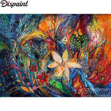 Dispaint Full Square/Round Drill 5D DIY Diamond Painting Oil painting flower 3D Embroidery Cross Stitch Home Decor Gift A12721