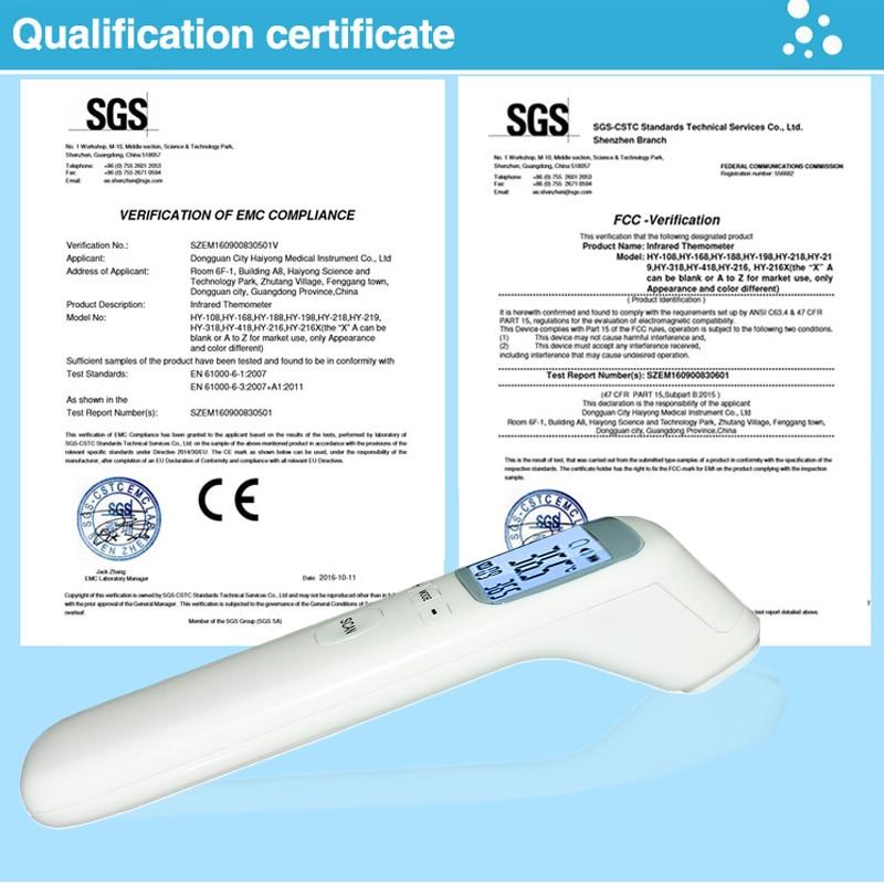 Sensor de Lcd com Controle Febre Infravermelho Remoto 2019 Medição