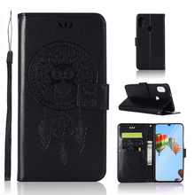 sFor Cover Huawei P30 Lite Case Dreamcatcher Leather Wallet Flip Phone for For