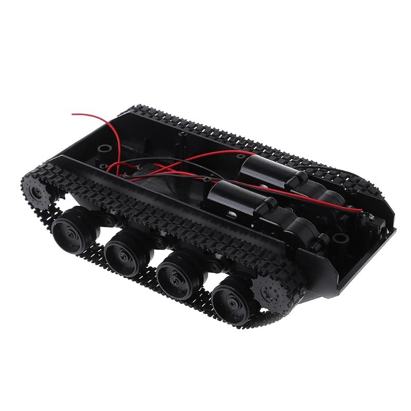 Tanque RC amortiguación equilibrio tanque Robot chasis plataforma Control remoto DIY para Arduino Caja de cambio creativo, Caja de Seguro para libro, Caja de Seguro para libro de simulación creativo europeo, Mini tanque de almacenamiento seguro