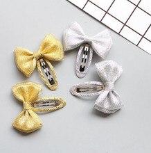 цена New Glitter Ornaments Kids hairpin Star Girls Hair Clips baby  Hairpins Barrettes Children Hair Accessories