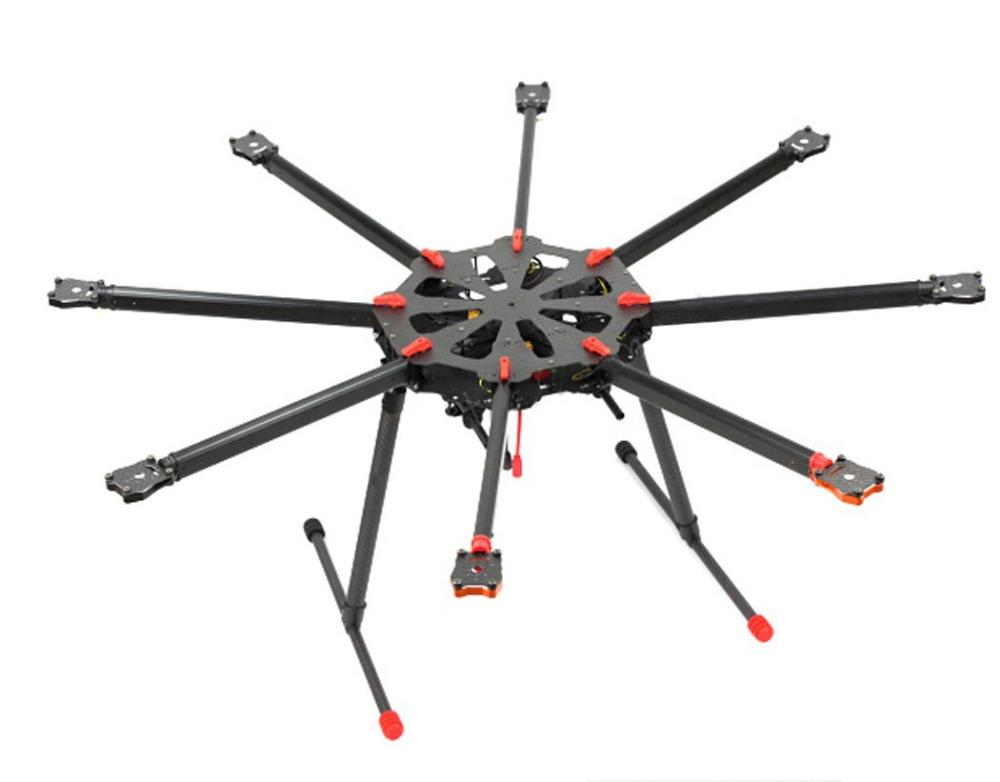 F11270 Tarot X8 TL8X000 8 axle Octocopter Umbrella Type Folding Frame Multicopter Electronic Retractable Landing Skid for FPV tarot electronic metal retractable landing gear skid controller connector tl65b45 for multicopter fpv
