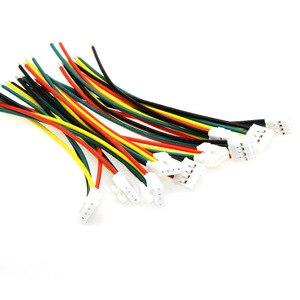 Image 1 - 10 pcs/Lot XH2.54 4 P câble de faisceau de câbles ligne électronique à tête unique 4PIN 10 CM