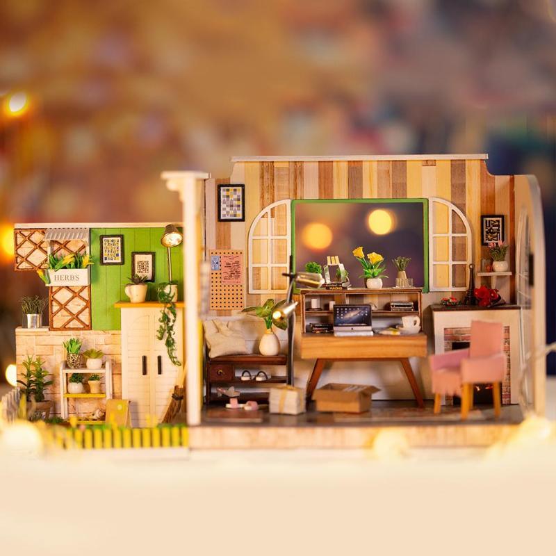 HTB1qZWaKNYaK1RjSZFnq6y80pXaN - Robotime - DIY Models, DIY Miniature Houses, 3d Wooden Puzzle