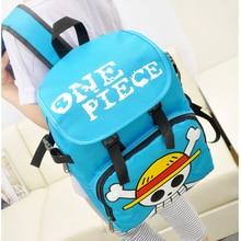 Luffy Skull Logo Nylon Backpack