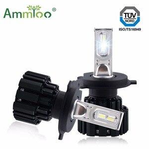 AmmToo H4 H7 LED Car Headlight