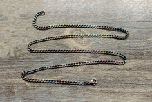 Seamless Pure Titanium Necklace Clavicle Chain Dog License Pendant Material Production