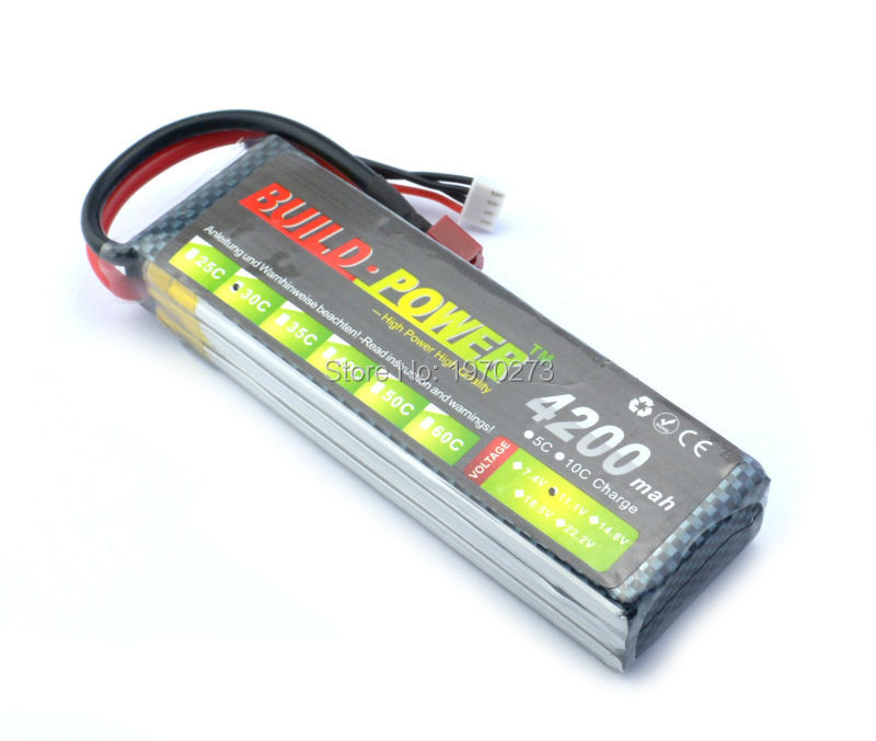 V Mah Li Po Car Battery