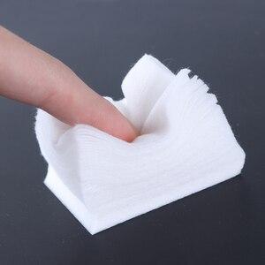 Image 2 - 1Pack Manicure UV Del Gel Del Chiodo Soak Off Remover Pads Privo di lanugine Salviette di Cotone Unghie Artistiche Punte Morbido E Pulito salviette Tovaglioli LA253 1