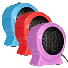 2016 Durable Quality Hot Selling Mini Personal Ceramic Space Heater Electric Winter Warmer Fan Blue US Plug