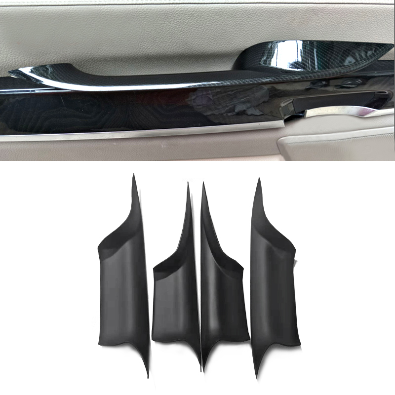 For Bmw 7 Series F01 2009 2010 2011 2012 2013 2014 2015 Car Styling Interior Door Handle Pull Protective Quick Install Cover