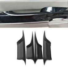 Dla BMW serii 7 F01 2009 2010 2011 2012 2013 2014 2015 samochodów stylizacji wewnętrznego drzwiowego uchwyt, gałka ochronna szybki montaż pokrywa
