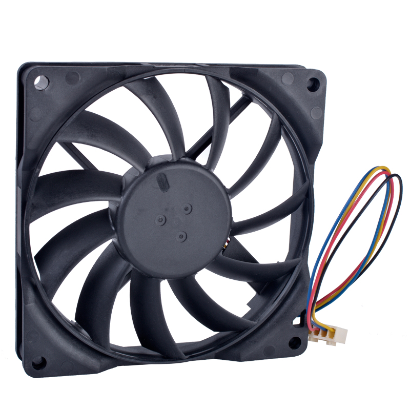DELTA AFC0912DB 90mm fan 9015 90x90x15mm 12V 0.45A Double ball bearing 4 wire 4pin PWM computer CPU cooler thin cooling fan