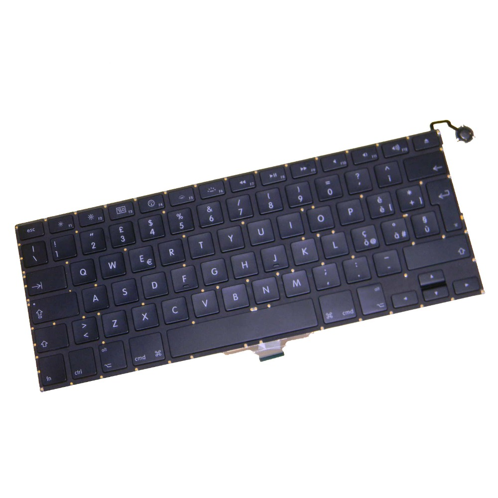 "For Macbook Air 13 inch"" A1237 A1304 2009 2010 MB003 MC233 MC234 IT Italy Keyboard Tested Work Well """