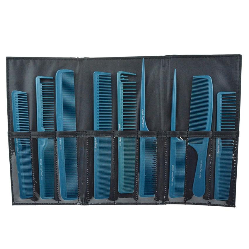 Prfessional Styling Hair Comb Set, Tail Comb In Blue Color Hair Cut - Penjagaan rambut dan penggayaan - Foto 1