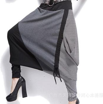 Women Pants Cotton Trousers Casual Hip-hop
