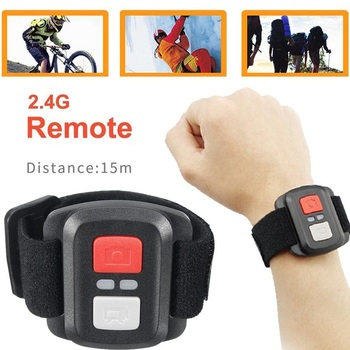 Cewaal Acessórios 2.4G Fotografia DV Câmeras de Vídeo de Esportes de Ação de Inteligência Do Obturador Selfie Para EKEN H9/H9R/H3R/H8/H8R