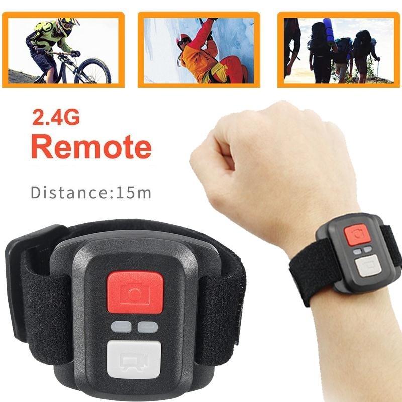 Cewaal Sports Action Video Cameras Accessories 2.4G Photography DV Intelligence Selfie Shutter For EKEN H9/H9R/H3R/H8/H8R