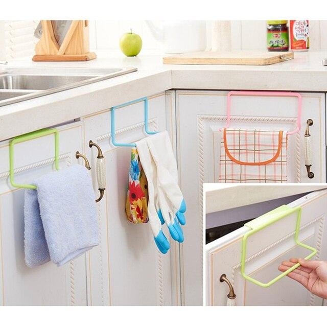 Keukenkastje Opknoping Wassen Doek Organizer Plastic Handdoekenrek ...