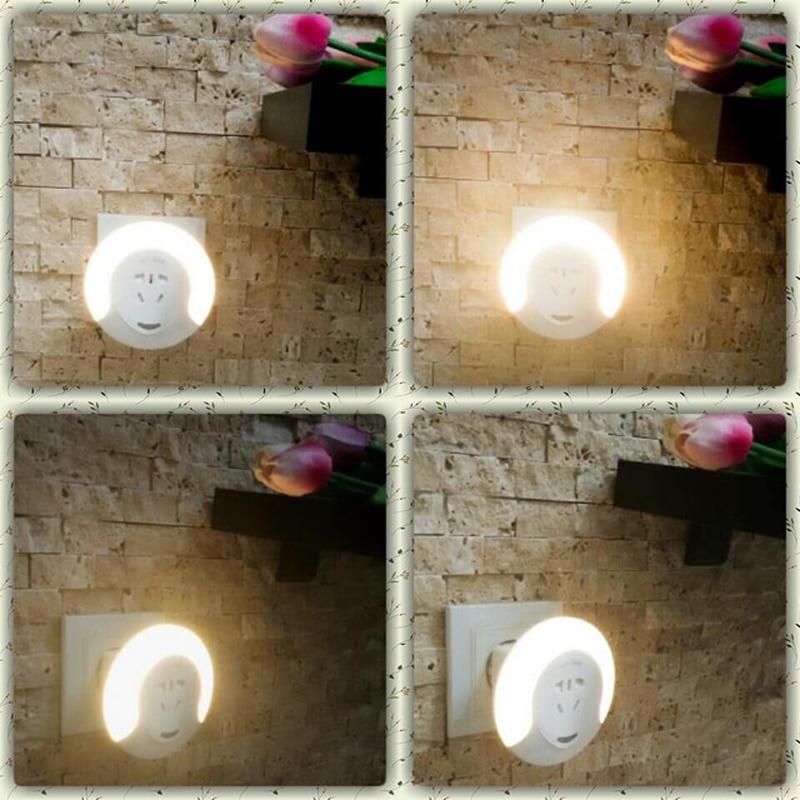 GentelWay Criativo LED Nightlight Plugue Com UM Controle Remoto Sem Fio para As Crianças Sala de Iluminação Ajustável de GoodenLighting_Store