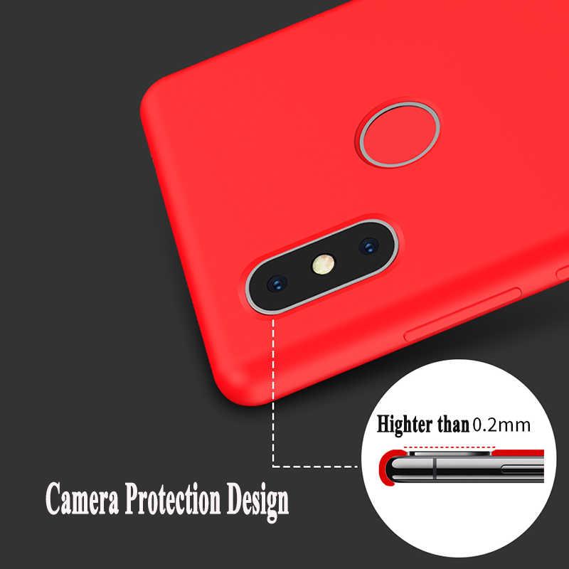 Lai Nguyên Chất Lỏng Mềm TPU Dẻo Silicone Ốp Lưng Bao da Cho Xiaomi Redmi Note 7 6 5 Pro 7Pro Bìa Chính Thức + Hộp bán lẻ