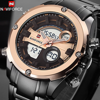 NAVIFORCE Top Luxury Brand Men Military Waterproof LED Sports Watches Men S Digital Clock Male Wrist