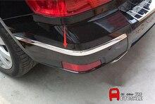 Per Mercedes-Benz GLK-Class X204 2008 2009 2010 2011 2012 2015 Lucido Chrome Paraurti Posteriore Protector angolo protezione Della Copertura trim