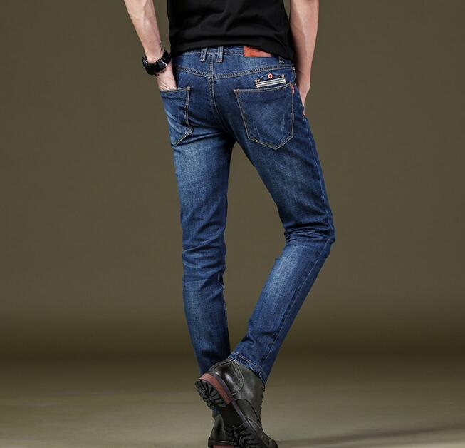 2018 New Arrival Good Quality Men Stretch Jeans On Hot Sales Long Length Free Shipping 5