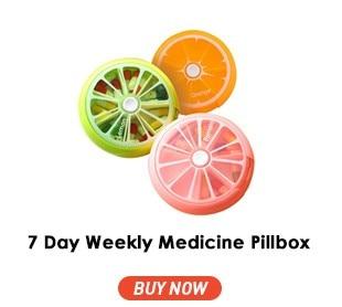 7 Day Weekly Medicine Pillbox