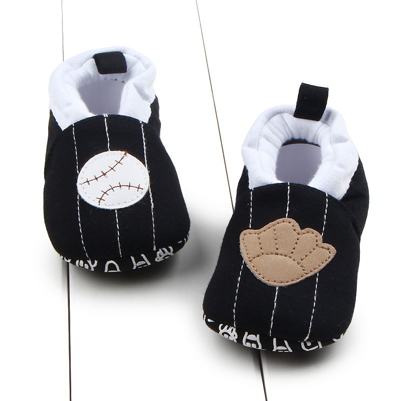 Newborn Autumn Winter Babys Girls Cartoon Pattern Soft Sole Toddler Kids Anti Slip On Cack Shoes