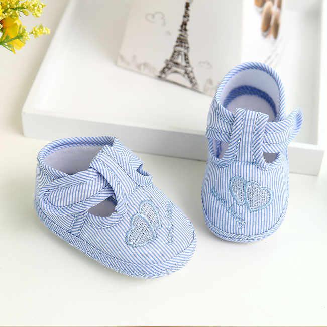 Zapatos modis para bebé niña recién nacida niño suela blanda zapatos Niños lona zapatilla verano bebek ayakkabi zapatos gran oferta #06