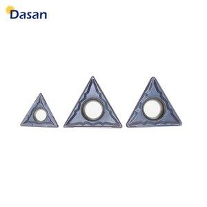 Image 2 - 10 pcs TCMT16T308 TCMT16T304 TCMT110204 Chèn Carbide Chuyển Biến Công Cụ CNC Lưỡi Máy Tiện Cắt Tấm Công Cụ Miễn Phí Vận Chuyển