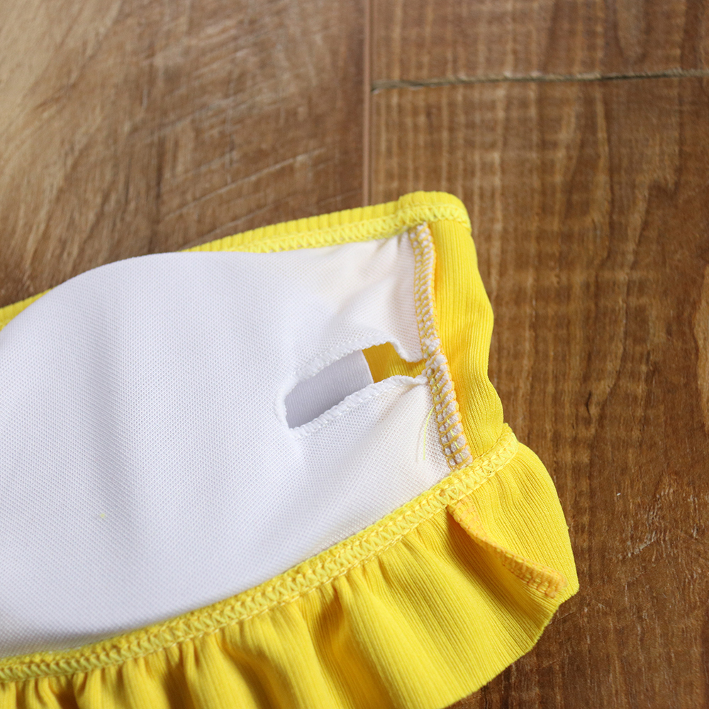 Ruffle bandeau bikini 17