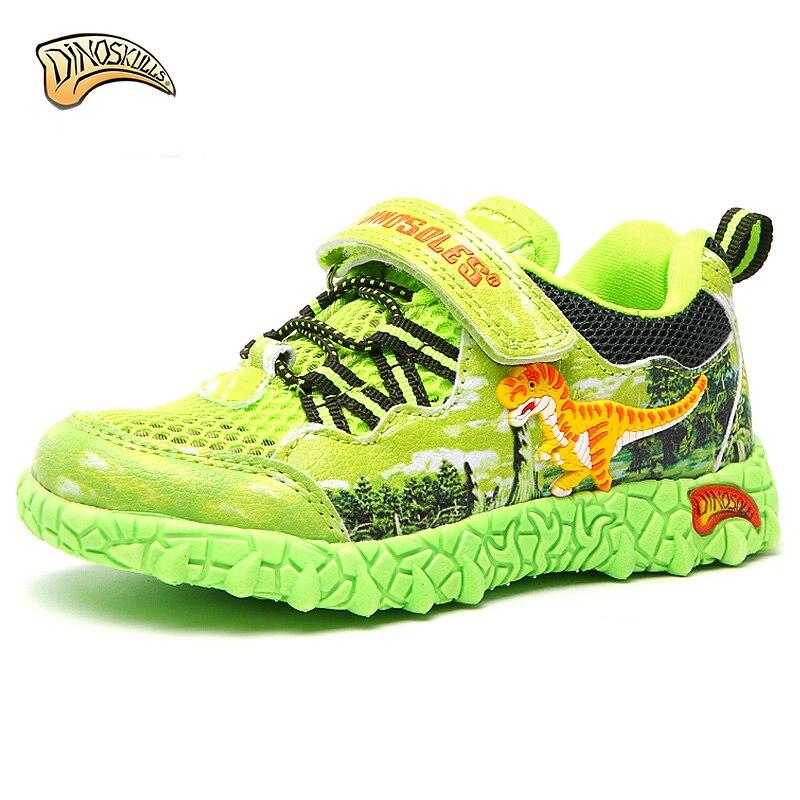 Кроссовки Dinoskulls, детская обувь для мальчиков, 3D обувь для малышей с динозавром, летние пляжные кроссовки 2019