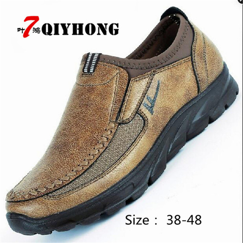 Brand 2018 New Fall High-Grade Shoes MenS Shoes Breathable Non-Slip Casual Shoes Thick Anti-Odor Large Zapatos Hombre Size 48Brand 2018 New Fall High-Grade Shoes MenS Shoes Breathable Non-Slip Casual Shoes Thick Anti-Odor Large Zapatos Hombre Size 48