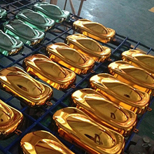 10*20cm Car Chrome Vinyl wrapping /plasti dip colors shown plastic car speed shapes model MX-179B 2 available