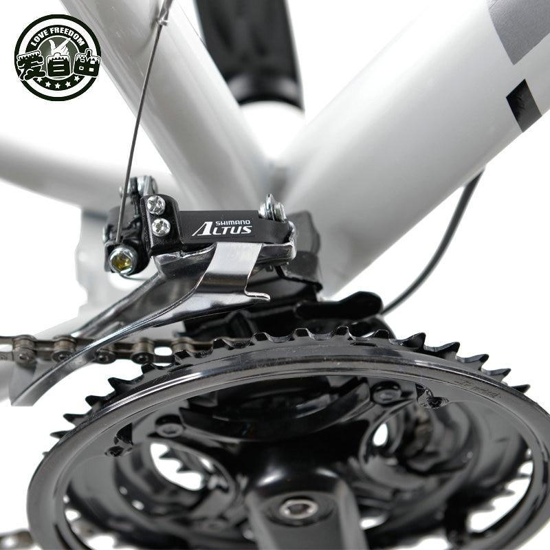 Meilės laisvės kalnų dviratis 7 greičiai, 21 greitis .24 - Dviratis - Nuotrauka 6
