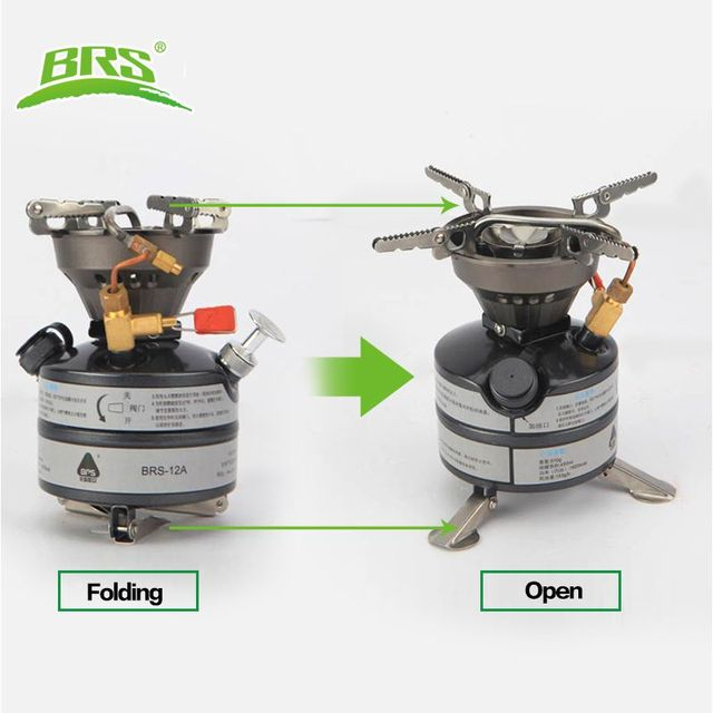 BRS-12A Power Multi-fuel Portable Lightweight Outdoor Camping Oil Stove Diesel Kerosene Stove