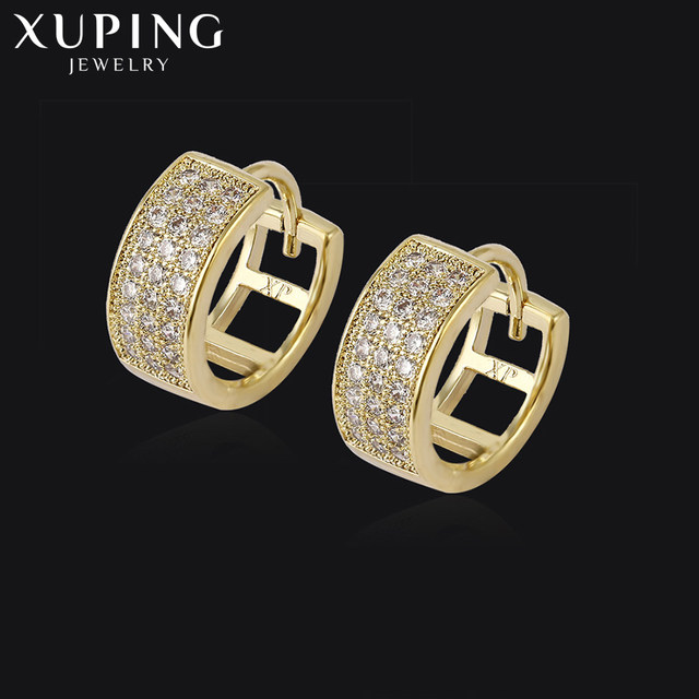 11 Deals Xuping Fashion Elegant Earrings With More Copper Jewelry For Women Thanksgiving Christmas Day Gift S54 2 93034